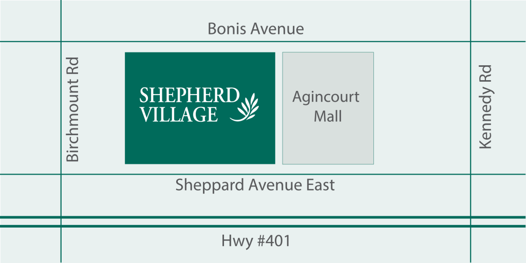 map of Shepherd Village