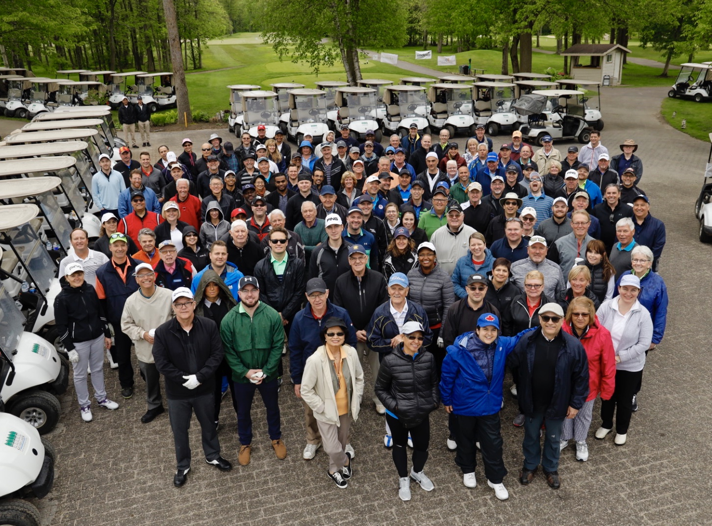 2018 Golf Tournament Participants